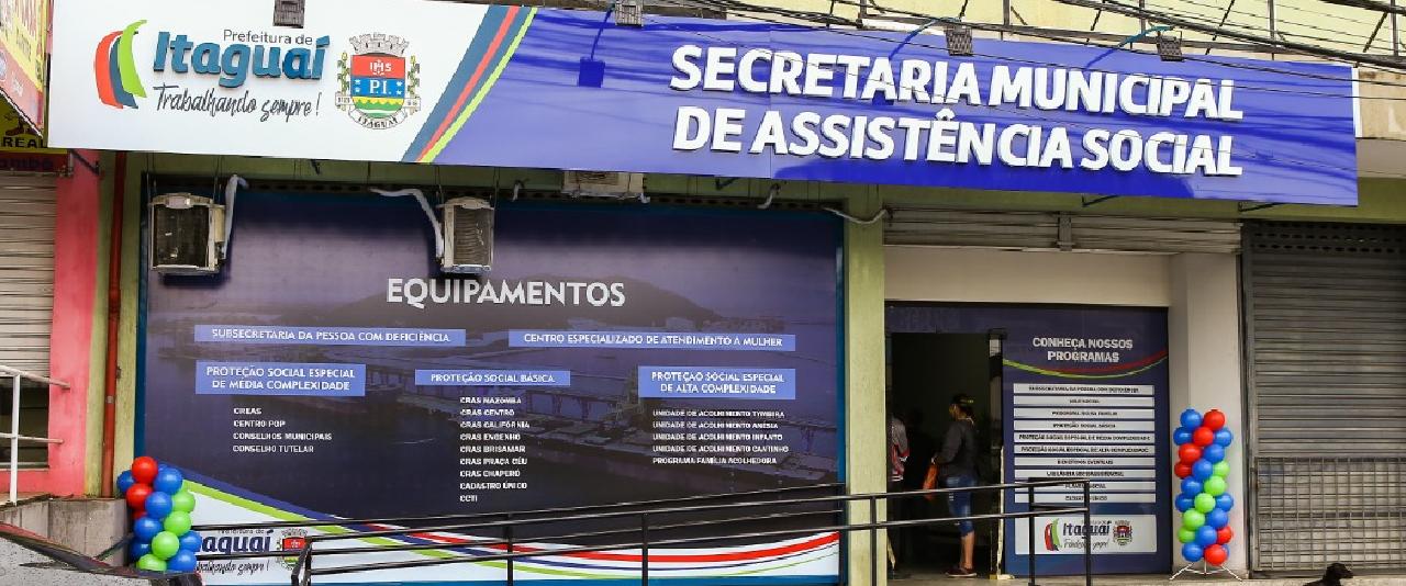 Prefeitura de Itaguaí inaugura nova sede da Secretaria de Assistência Social