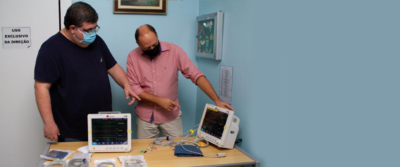 Hospital São Francisco Xavier recebe monitores multiparâmetros